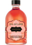Oil Of Love Kissable Body Oil Passionate Peach 3.4 Ounce