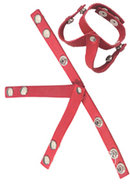 Redline Oiltan V Style Ball Divider Leather Red